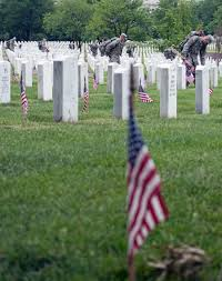Memorial Day Graveside Decorations by Flags In Ceremony Sets The Stage For Memorial Day At Arlington
