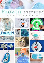 Frozen Art Craft Ideas To Get Creative