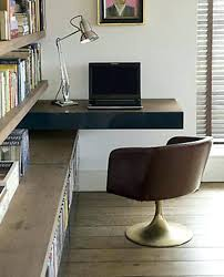 bibliothèque avec bureau intégré bibliotheque avec bureau integre designs uniques de bureau