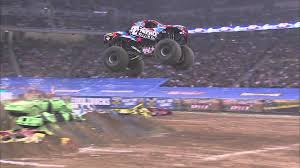 100 Monster Trucks Atlanta Jam Nitro Circus Truck Freestyle Highlights