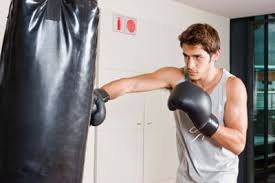 Heavy Bag Ceiling Mount Track by How To Hang A Punching Bag From The Ceiling Livestrong Com