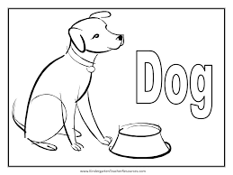 Inspirational Coloring Page Of Dog 20 In For Kids With