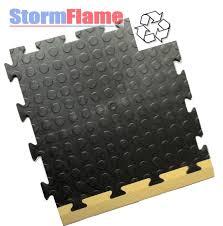 Anti fatigue interlocking floor tiles  UK Recycled PVC