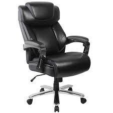 Black High-Back Big And Tall 500lb Home Office Chair ...