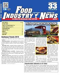 The Patio Restaurant Darien Il by Food Industry News June 2015 Web By Foodindustrynews Issuu