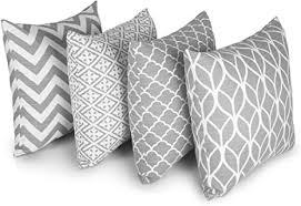 penguin home 4er pack koordiniert dekorative quadratische kissenbezüge luxus und stilvolle taschen für das wohnzimmer sofa schlafzimmer mit