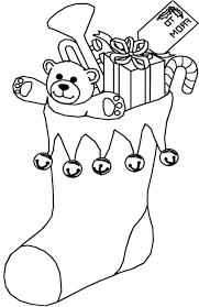 Free Christmas Coloring Pages Photo