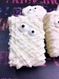 Rice Krispie Halloween Treats Spiders by Spooky Mummy Rice Krispies Treats