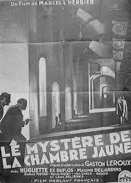 le myst e de la chambre jaune 1930 le mystère de la chambre jaune r vachet history meno