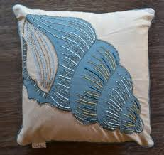 nicole miller seashell accent pillow j brulee home