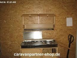 küchenblock mit unterschrank spüle kocher oberschrank