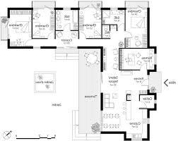 plan maison contemporaine plain pied 3 chambres plan de maison 100m2 3 chambres plan de maison 100m2 3 chambres