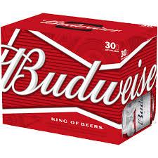 Budweiser Beer 30 pack 12 fl oz Walmart