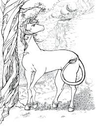 Detailed Coloring Pages Adults Pictures Printable Free Christmas Animal For Full Size