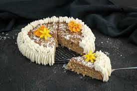 low carb karotten kuchen zuckerfrei glutenfrei und paleo