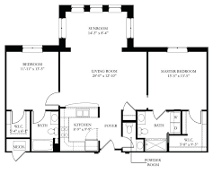 Average Square Footage Of A 4 Bedroom House Size In Feet Living Room Dining High On
