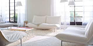 choisir canapé cuir canapé blanc notre shopping complètement design