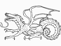 Awesome Coloring Page Dragon 44 With Additional For Kids