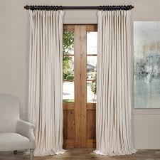 Ssp Mass Loaded Vinyl Curtain Material by Ivory Velvet Blackout Curtains Curtain Blog