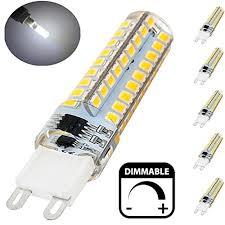 bonlux dimmable led g9 light bulb 5 watt 40 watt halogen