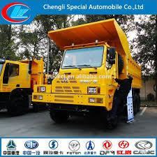 100 End Dump Truck 6x4 Truk Berat Genlyon Tippers Iveco Pertambangan