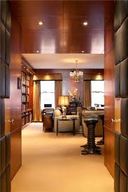 100 Luxury Penthouse Nyc Apartments NYC Duane Street Private Library Entrance