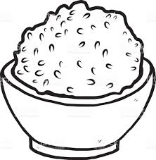 Rice Bowl Stock Vector Art & More of Art