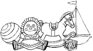 Rocking Horse Doll Boat Ball Coloring Index