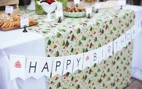 decoration pour anniversaire idées de décoration pour un anniversaire thème automne
