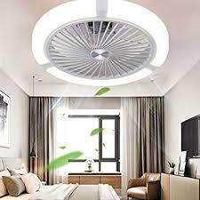 led unsichtbarer deckenventilator fan deckenleuchte moderne fan deckenle 68w dimmbar mit fernbedienung für wohnzimmer le schlafzimmer