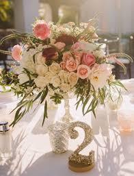 7 DIY Wedding Table Number Tutorials & 40 Samples