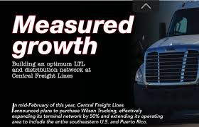 100 Wilson Trucking Company CENTRALLY SPEAKING