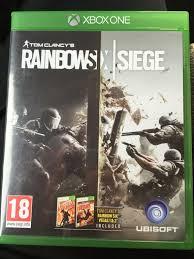 siege xbox one used rainbow six siege xbox one in wa1 warrington for 25 00 shpock