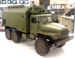 100 Ural Truck For Sale WPL Toys B36 116 6WD Military Review RC Groups