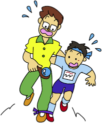 Race Walk Clipart