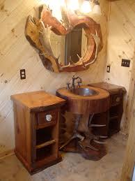 Rustic Bathroom Lighting Ideas by Rustic Bathroom Cabinet Mirror Best Bathroom Decoration