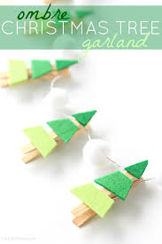 May Contain Commissioned Links Ombre Christmas Tree Garland