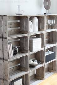 Crate DIY Pallets Can Make An Easy Bookcase Or Storage For Lots Of Things