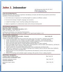 Experienced Teacher Resume Samples Sample Downloads For Format Resumes