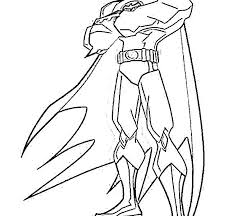 Line Drawings Batman Beyond Coloring Pages New In Exterior Free Kids A Part Of 10 Image Gallery