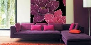 wohnzimmer lila coole einrichtungsideen im lila purple