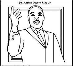 Coloring Pages For Martin Luther King Jr 11 Sheets Printables