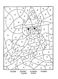 Free Printable Color By Number Coloring Pages Best Colour Numbers Printables