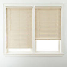 J C Penney Faux Wood Window Blinds and Shades