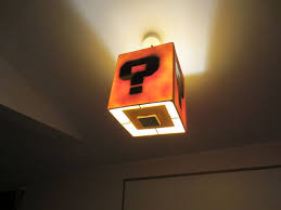Super Mario Question Block Lamp Ebay by Super Mario Lamp 6 Steps With Pictures