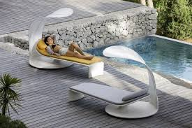 Ultra Modern Sun Loungers Contemporary Pool Furniture Patio