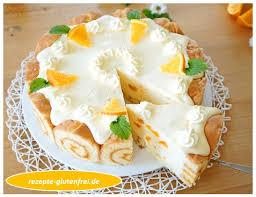 orangen mandarinen sahnetorte tanja s glutenfreies kochbuch