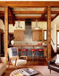Rustic Kitchen Living Room Style