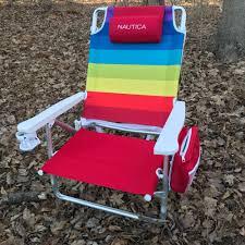 100 Nautica Folding Chairs TopNotch Vintage Beach Chair