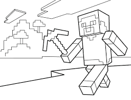 Minecraft Creeper Coloring Page Full Size Of Pages As Well